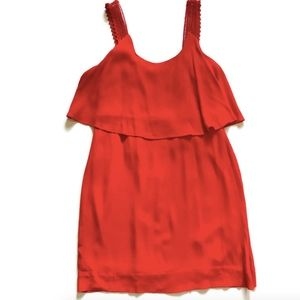 Anthropologie Dresses - Anthropologie Maeve Tisana Dress Red Sleeveless 6